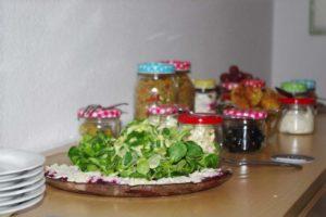 Leckere Speisen beim Dortmunder Ideentisch
