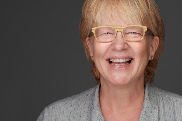 Andrea Brüske lachend